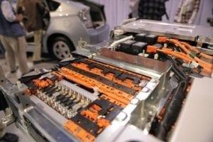 Bateria de íon-litio para carros. Armazenamento de energia solar.